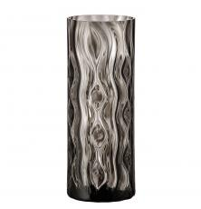 Optic Rhythm vase 260 black