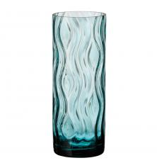 Optic Rhythm vase 260 green