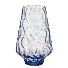 Optic Rhythm vase 250 light blue