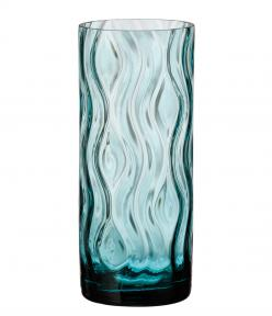 Optic Rhythm vase 290 green